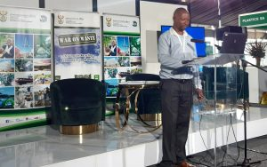 Ntlebi was one of many stakeholders that delivered a presentation. He told delegates that high unemployment in South Africa had driven people to become waste pickers. Many of them worked at landfill sites or on the streets. Ntlebi said approximately 90% of general waste was still being sent to landfill sites, and over 200,000 people were waste pickers in South Africa.